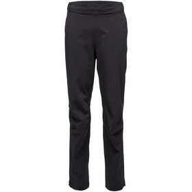 Black Diamond Stormline Stretch Pantalones de lluvia Hombre, black